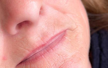 Permanent-Mack-Up für Lippen